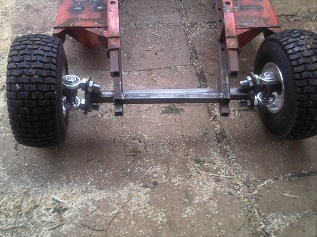 Racing Mower Axle : Mower racing